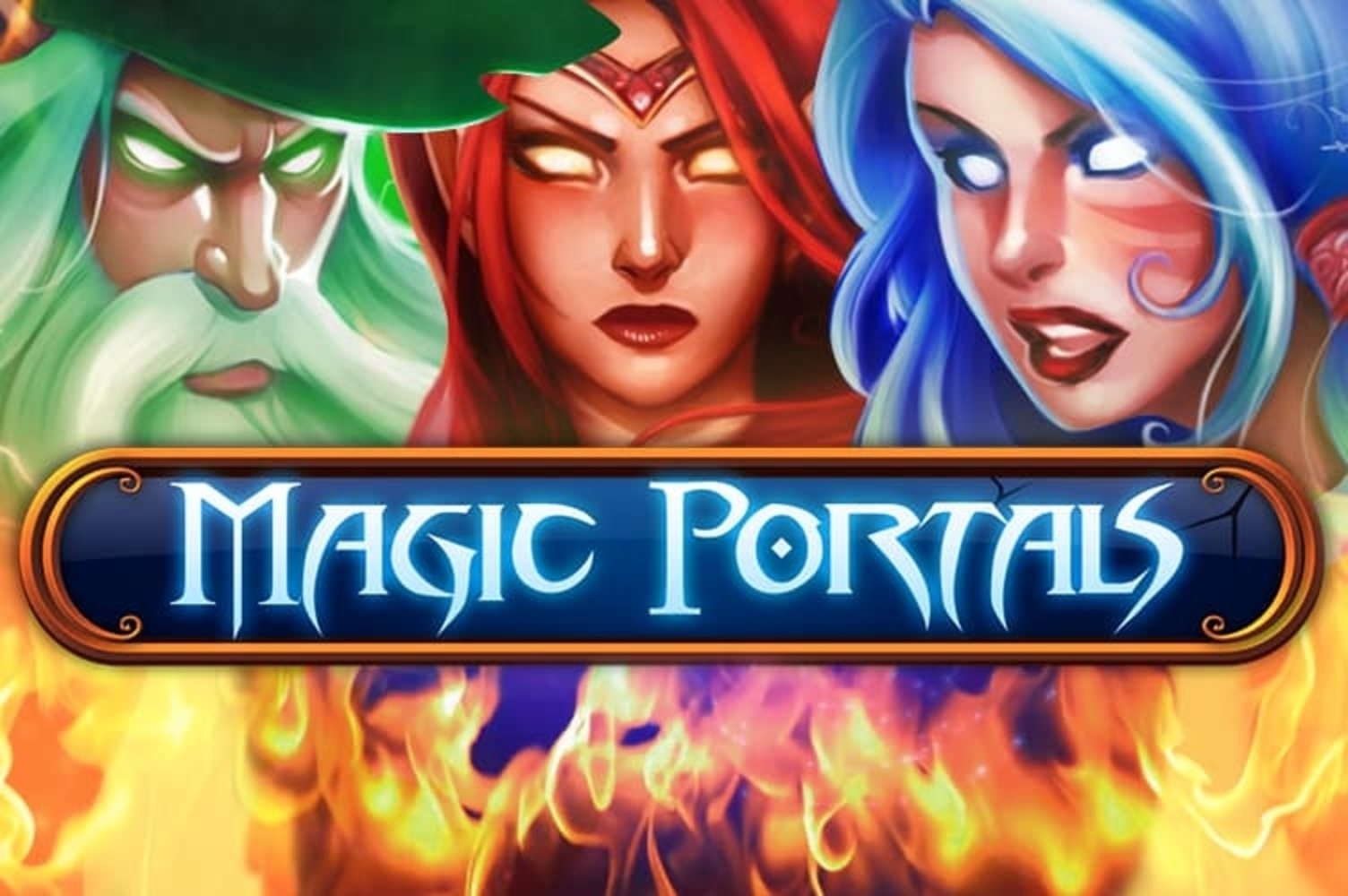 Se Magic Portals Online Slot Demo Game, NetEnt