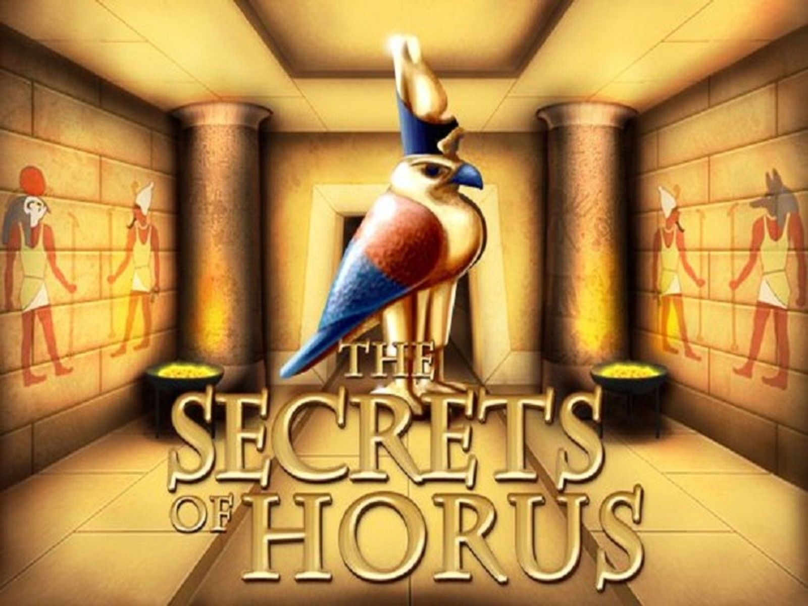 Se Secrets of Horus Online Slot Demo Game, NetEnt