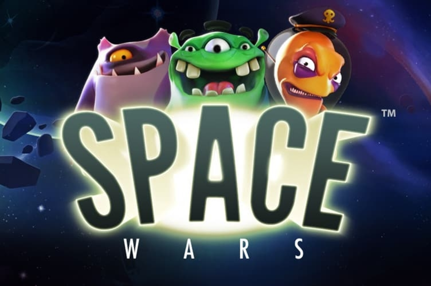 Se Space Wars Online Slot Demo Game, NetEnt