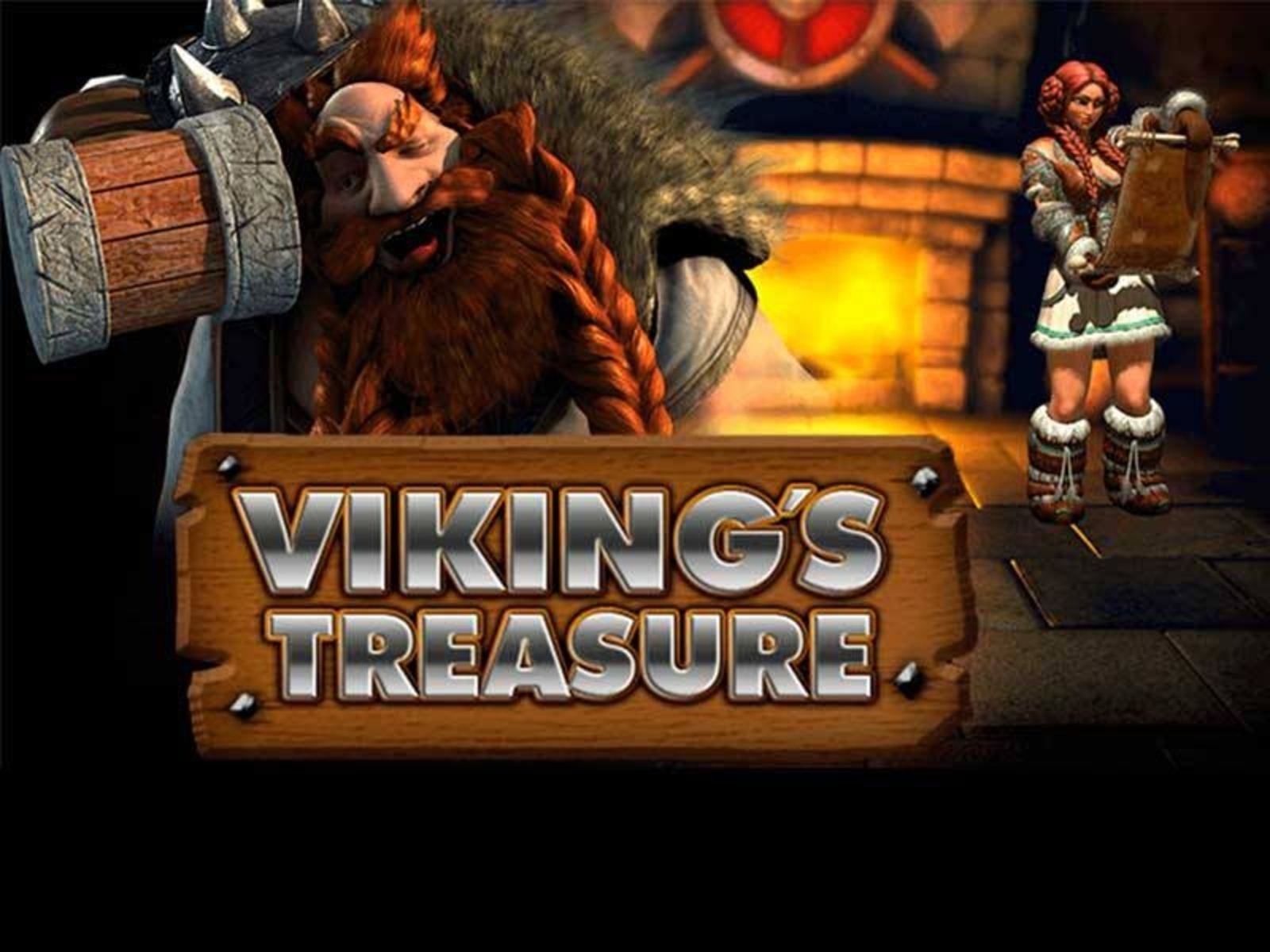 Se Vikings Treasure Online Slot Demo Game, NetEnt