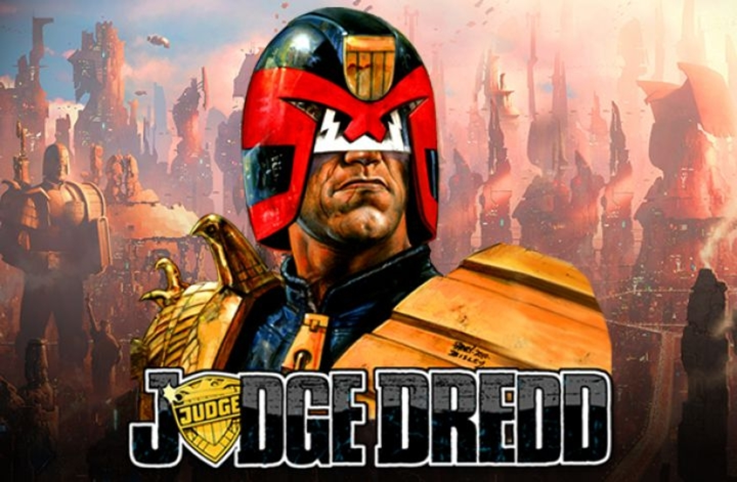 Se Judge Dredd Online Slot Demo Game, NextGen