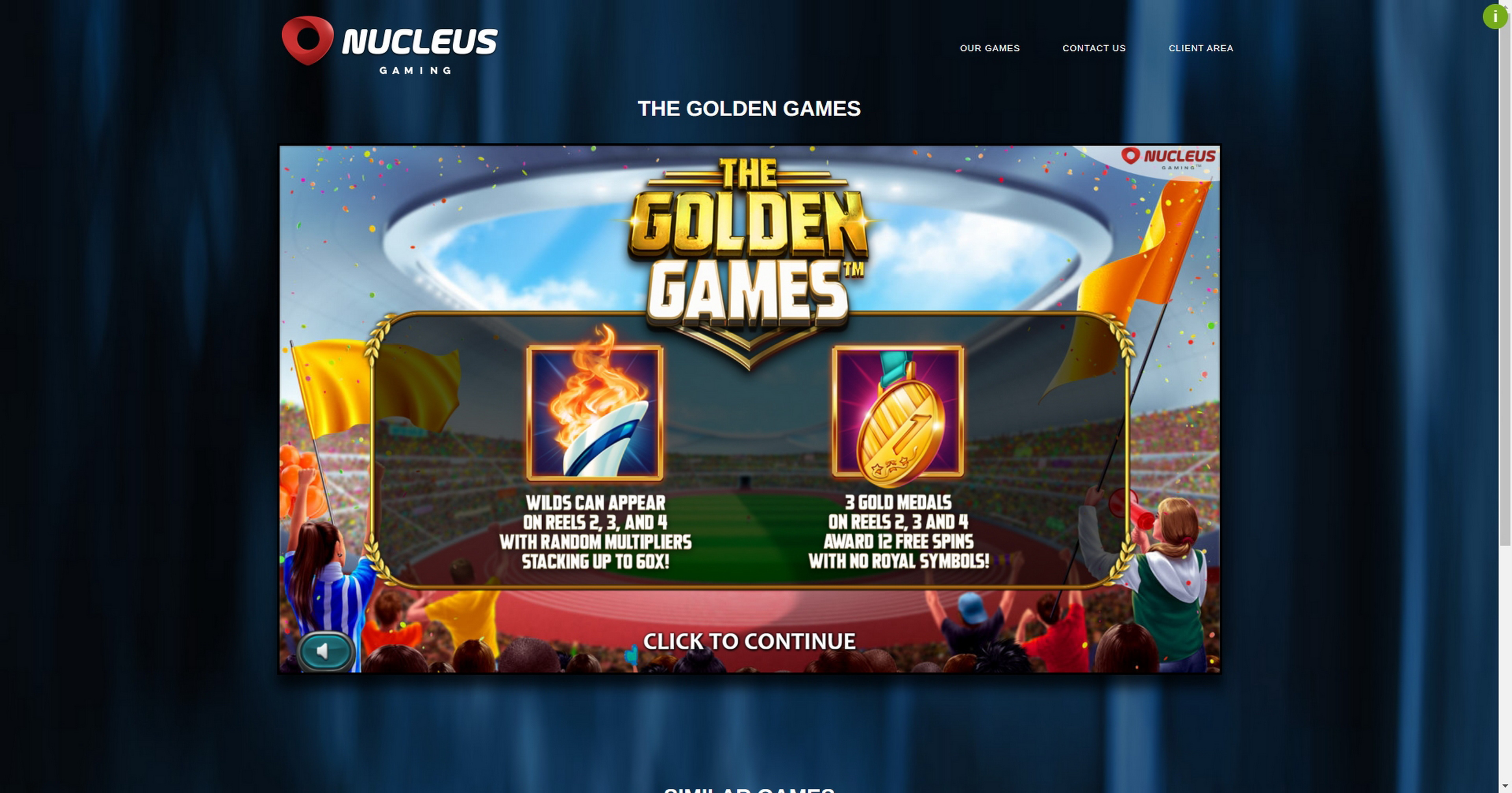 Pelaa The Golden Games ilmaista kasinopeliä Nucleus Gaming