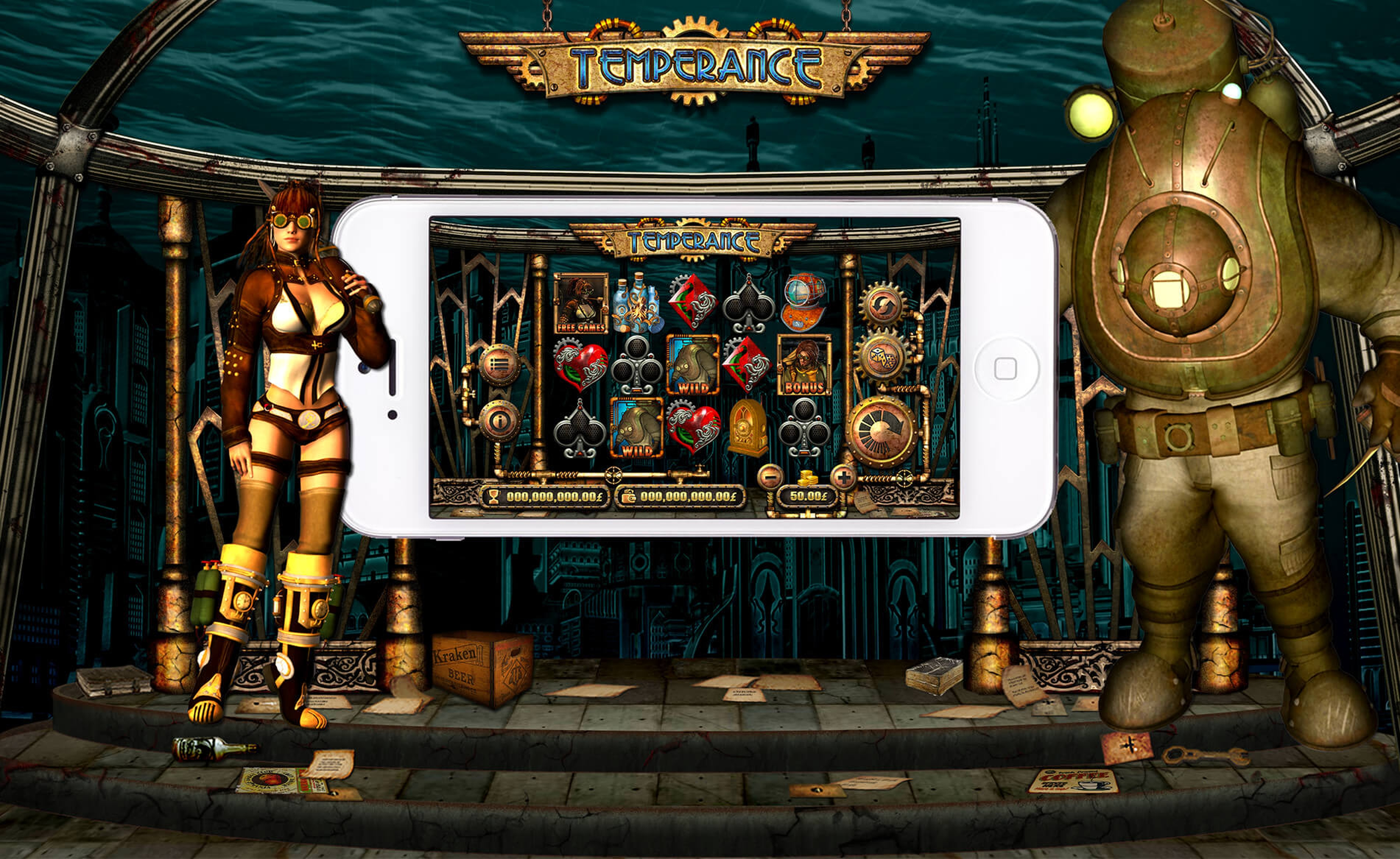 Se Temperance Online Slot Demo Game, Old Skool Studios