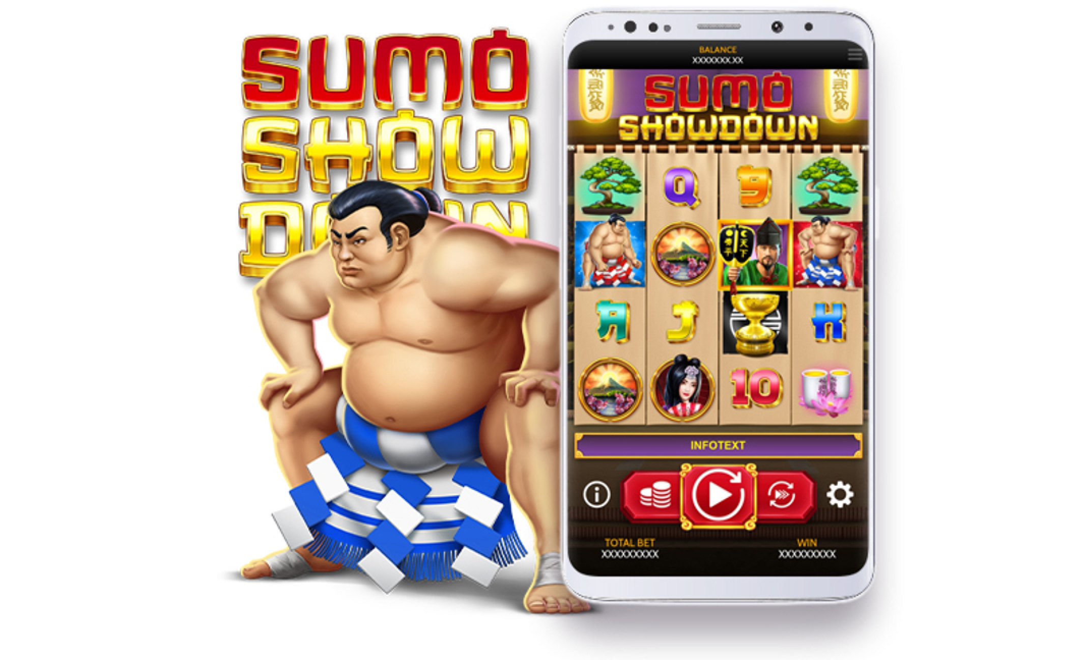 Se Sumo Showdown Online Slot Demo Game, OneTouch Games