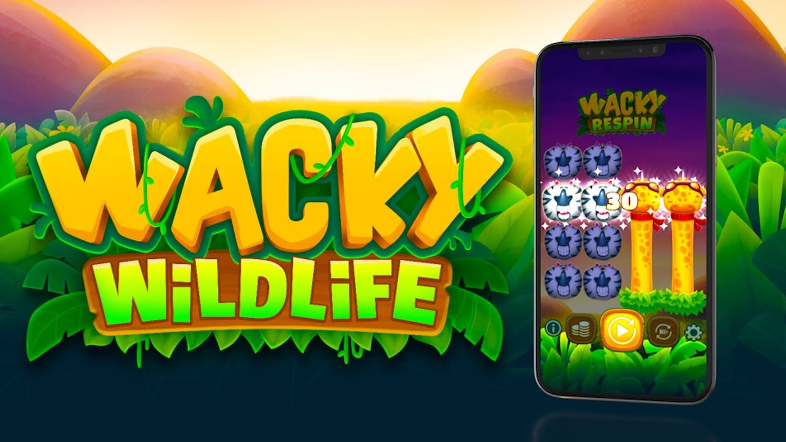 Se Wacky Wildlife Online Slot Demo Game, OneTouch Games