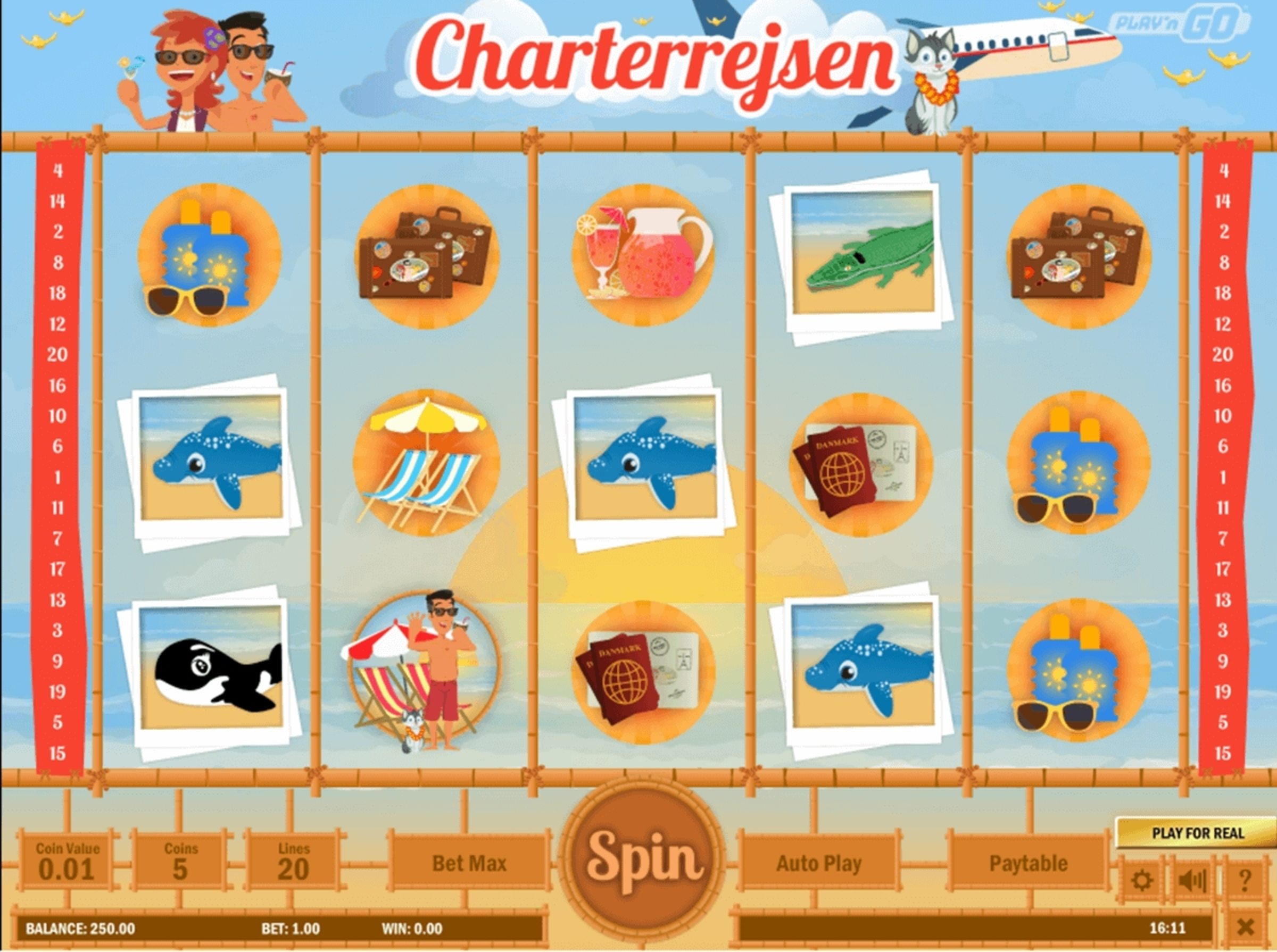 Se Charterrejsen Online Slot Demo Game, Playn GO
