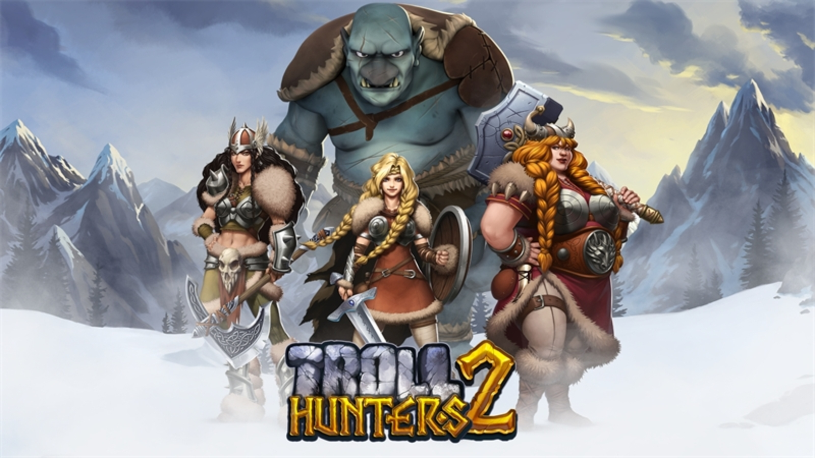 Se Troll Hunters Online Slot Demo Game, Playn GO