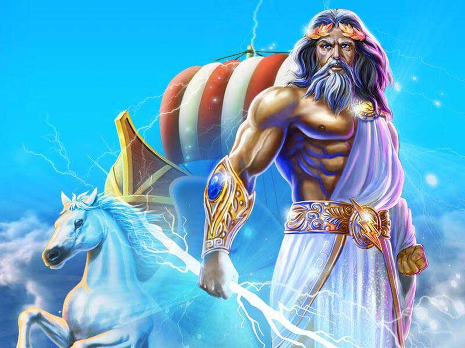 Se Age of the Gods Online Slot Demo Game, Playtech