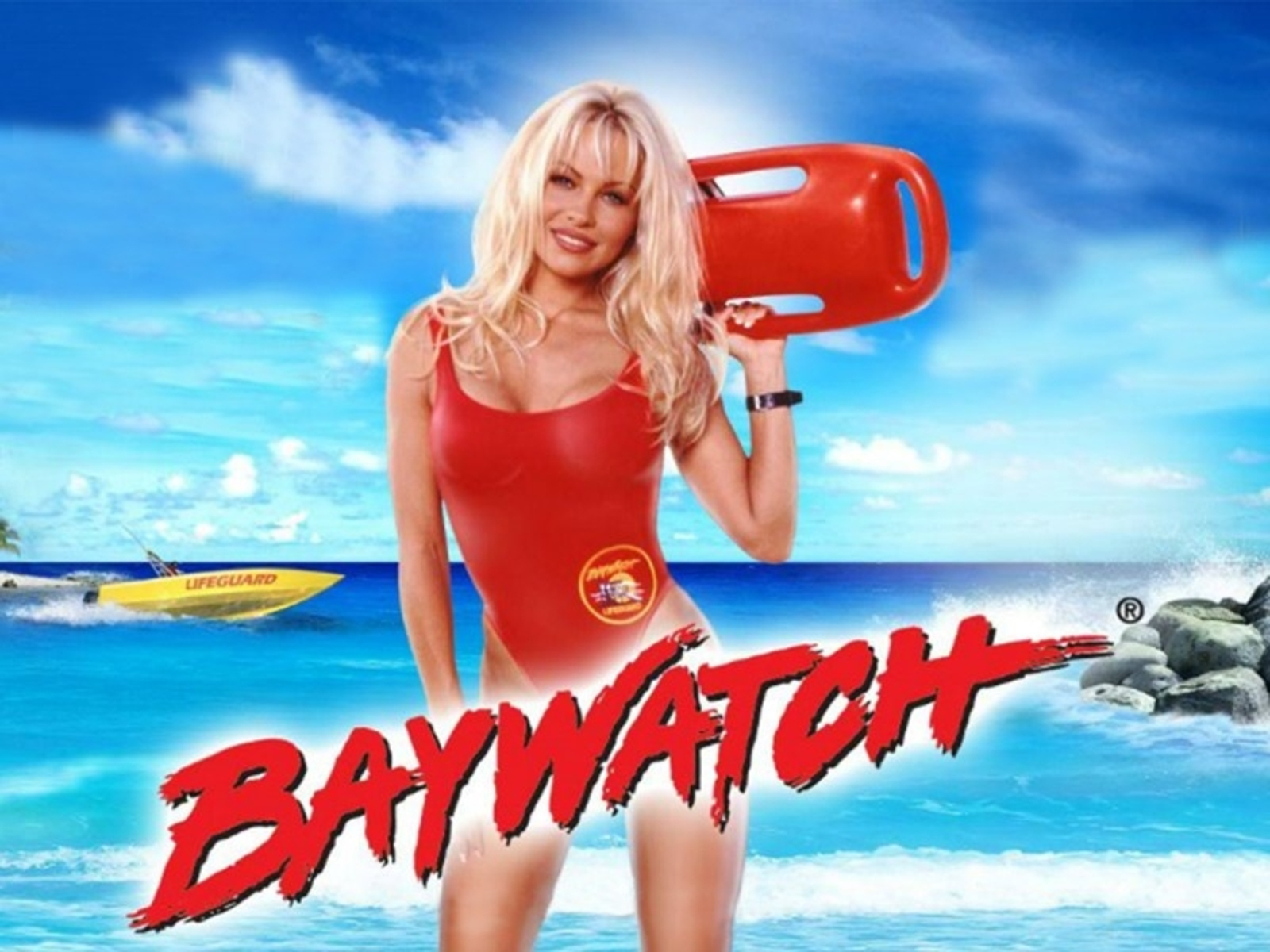 Se Baywatch (Playtech) Online Slot Demo Game, Playtech