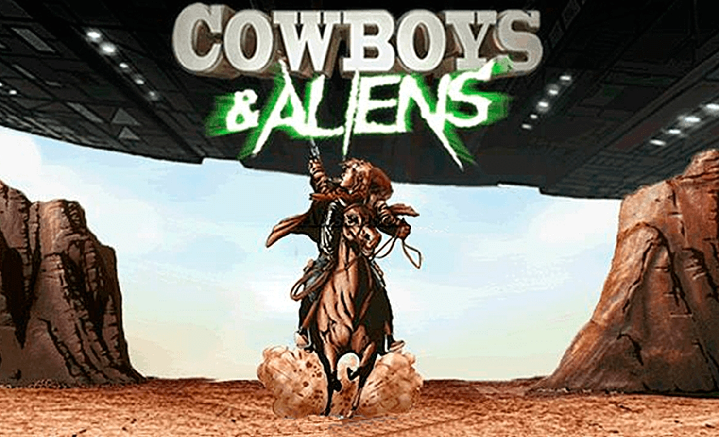 Se Cowboys & Aliens Online Slot Demo Game, Playtech