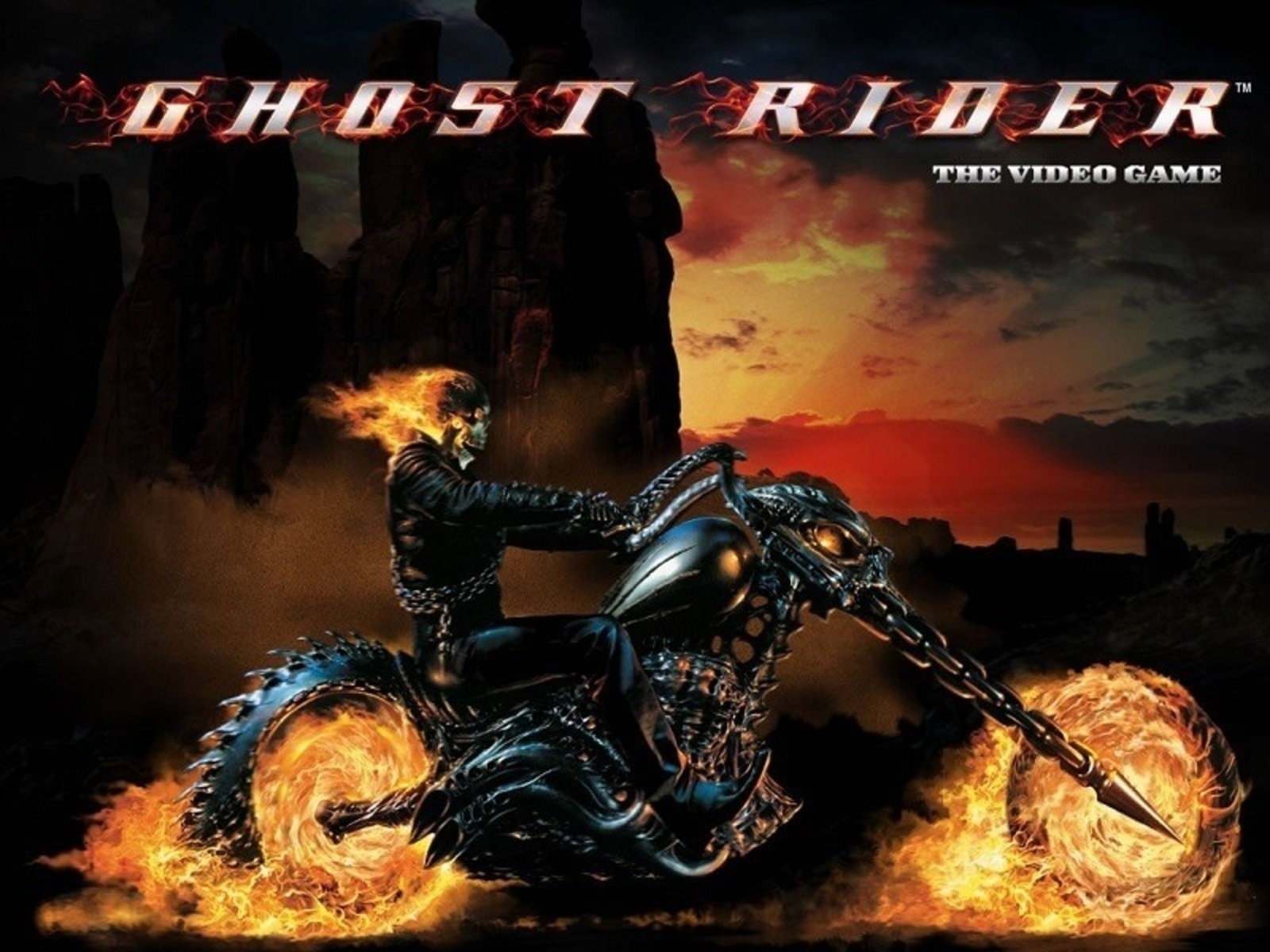 Se Ghost Rider Online Slot Demo Game, Playtech