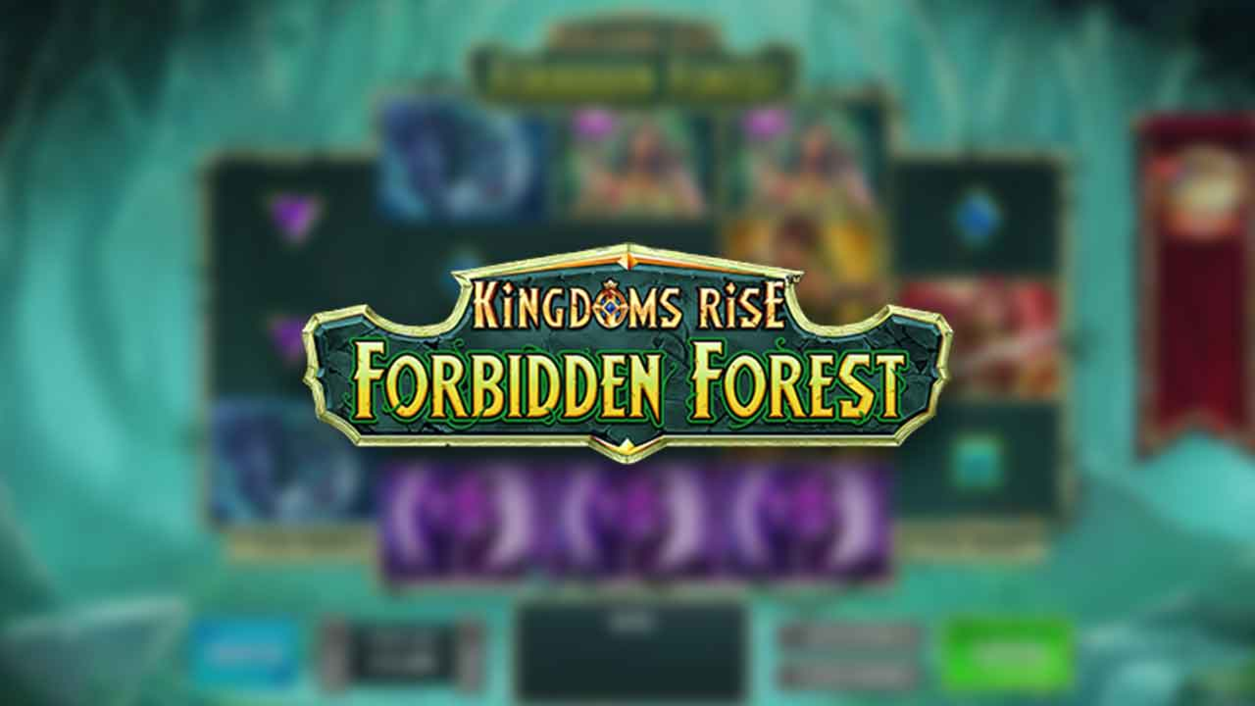 Se Kingdoms Rise: Forbidden Forest Online Slot Demo Game, Playtech Origins