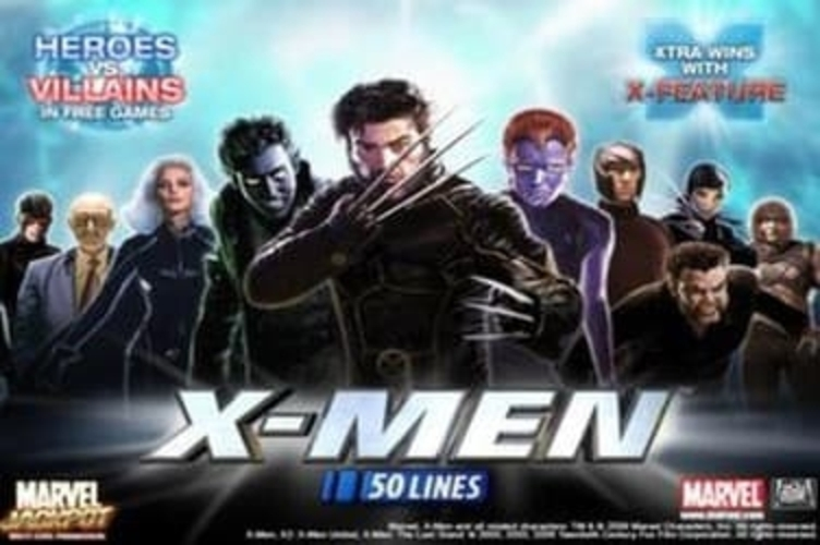 Se X-man 50 lines Online Slot Demo Game, Playtech