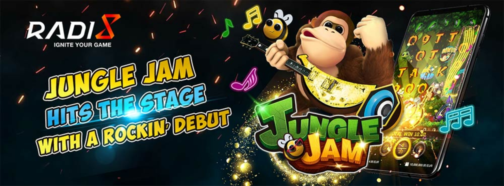 Se Jungle Jam Online Slot Demo Game, Radi8
