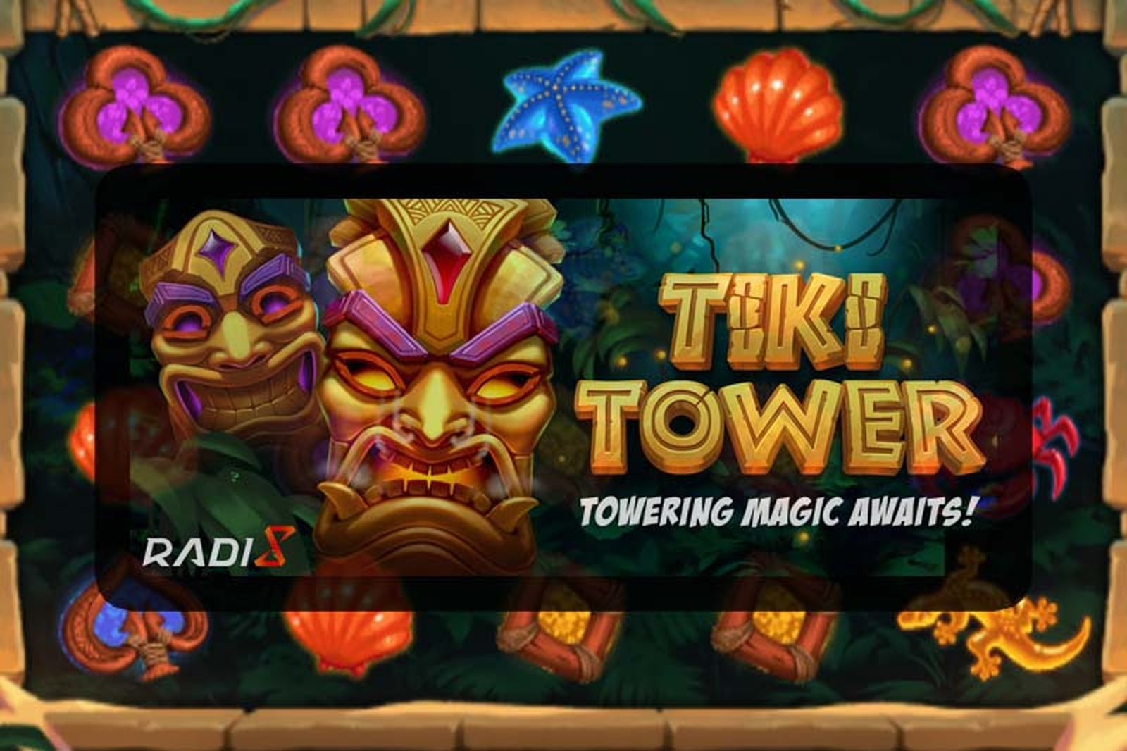 Se Tiki Tower Online Slot Demo Game, Radi8