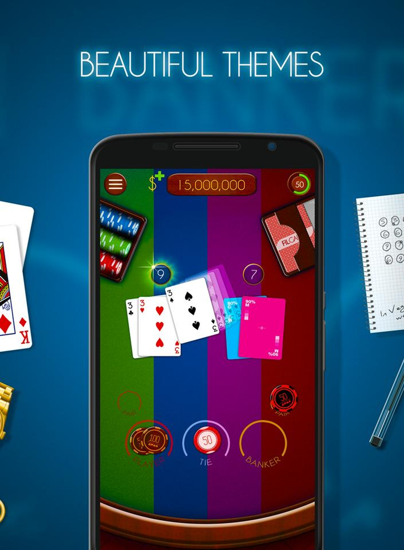 Se Baccarat (Realistic) Online Slot Demo Game, Realistic Games