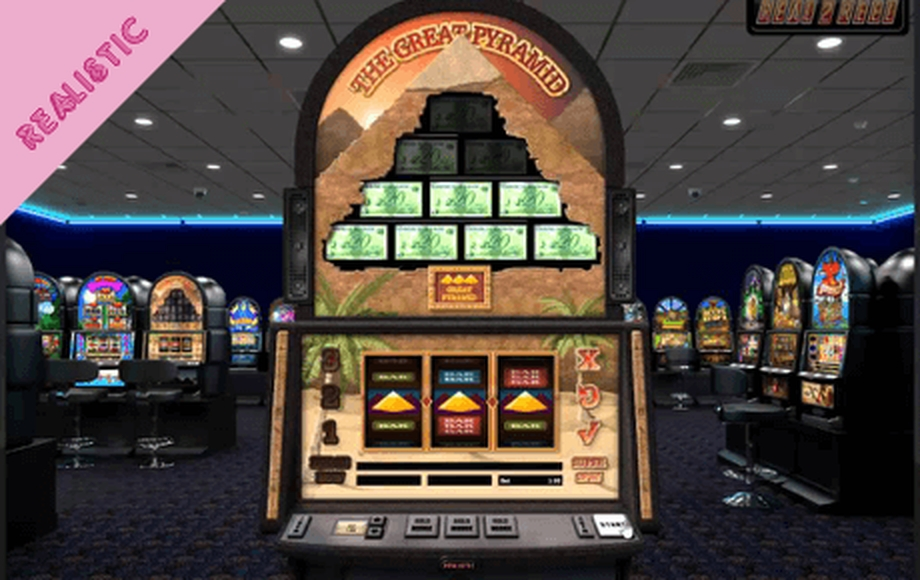Se The Great Pyramid Online Slot Demo Game, Realistic Games