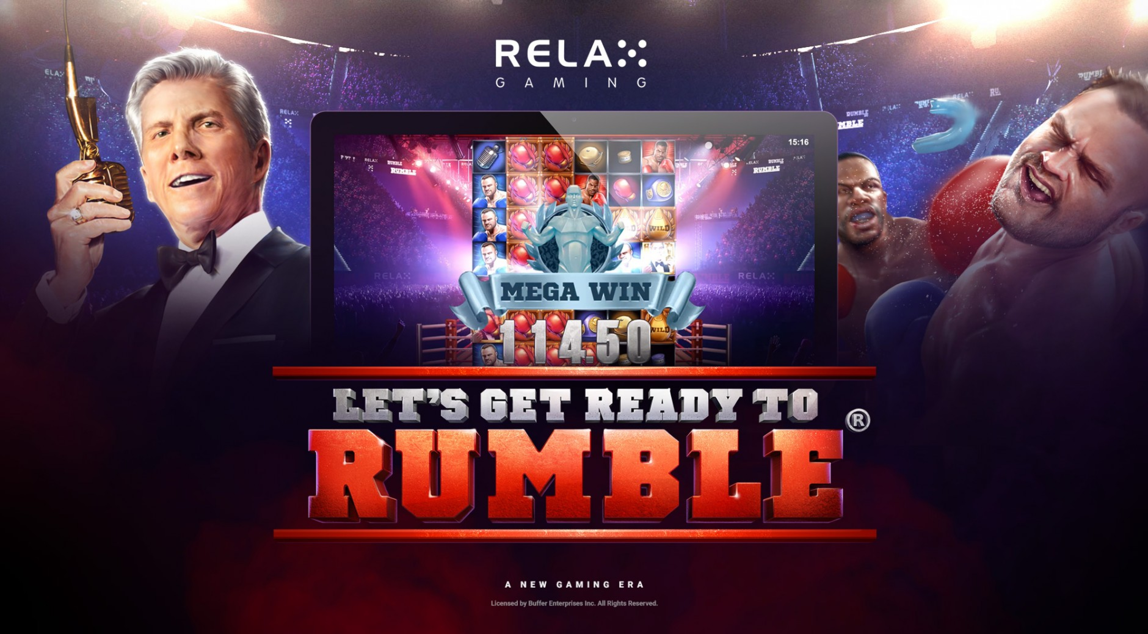 Se Let's Get Ready to Rumble Online Slot Demo Game, Relax Gaming