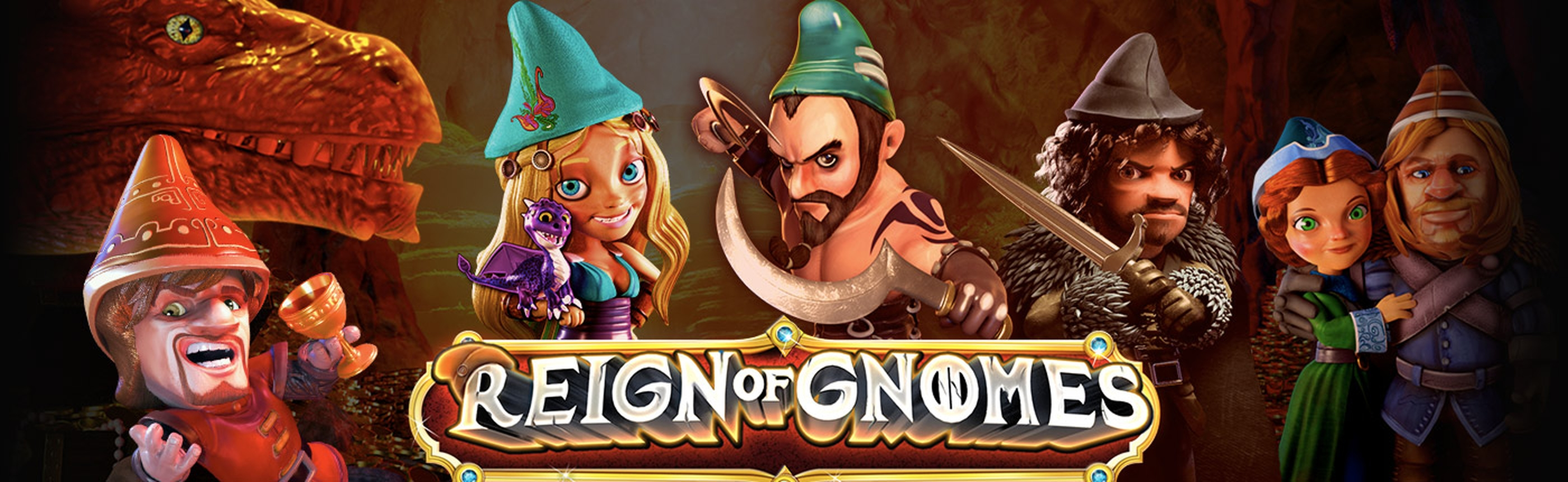 Se Reign of Gnomes Online Slot Demo Game, Revolver Gaming