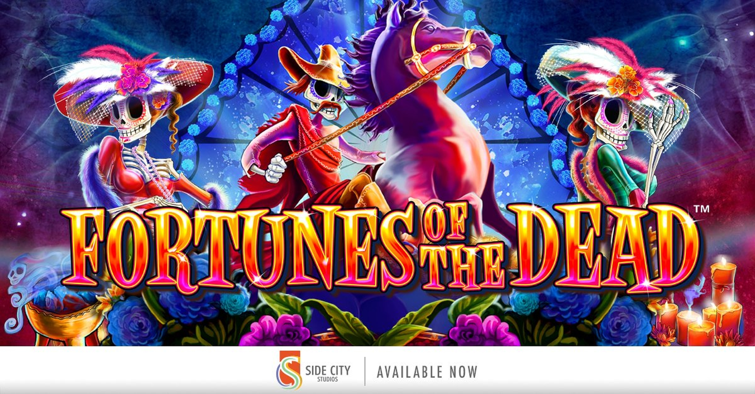 Se Fortunes of the Dead Online Slot Demo Game, Side City