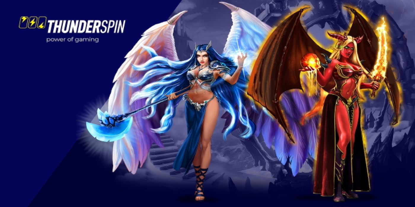 Se Angels vs Demons Online Slot Demo Game, Thunderspin