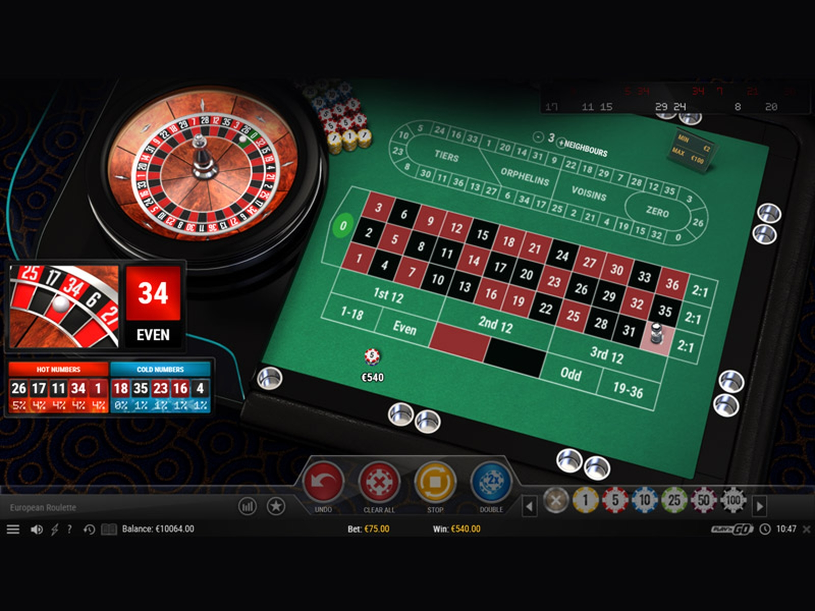 Se European Roulette (Top Trend Gaming) Online Slot Demo Game, Top Trend Gaming
