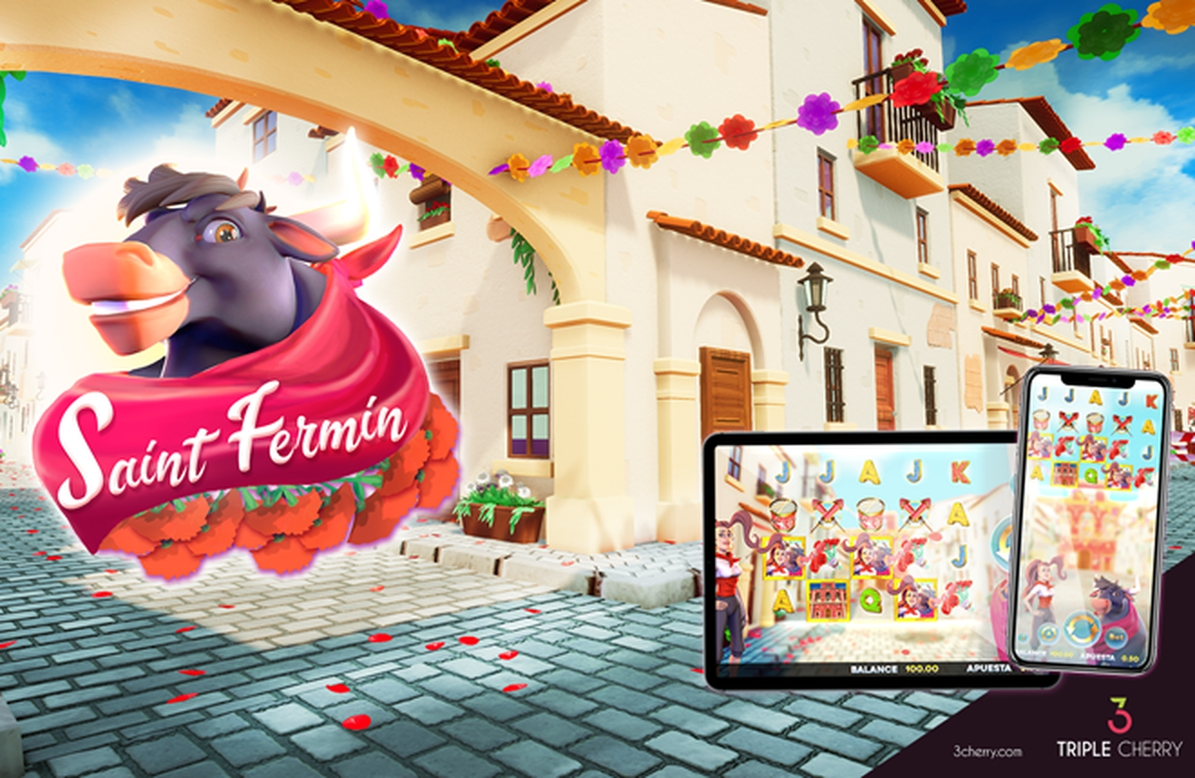 Se Saint Fermin Online Slot Demo Game, Triple Cherry