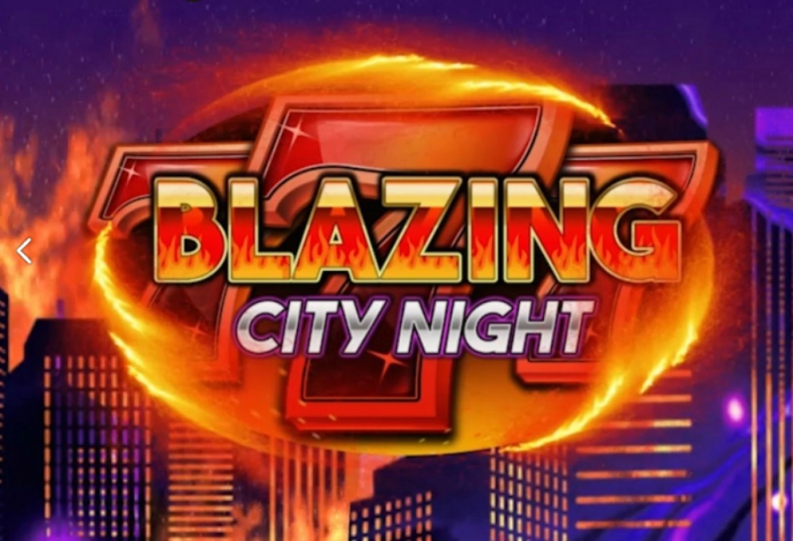 Se Blazing City Night Online Slot Demo Game, We Are Casino