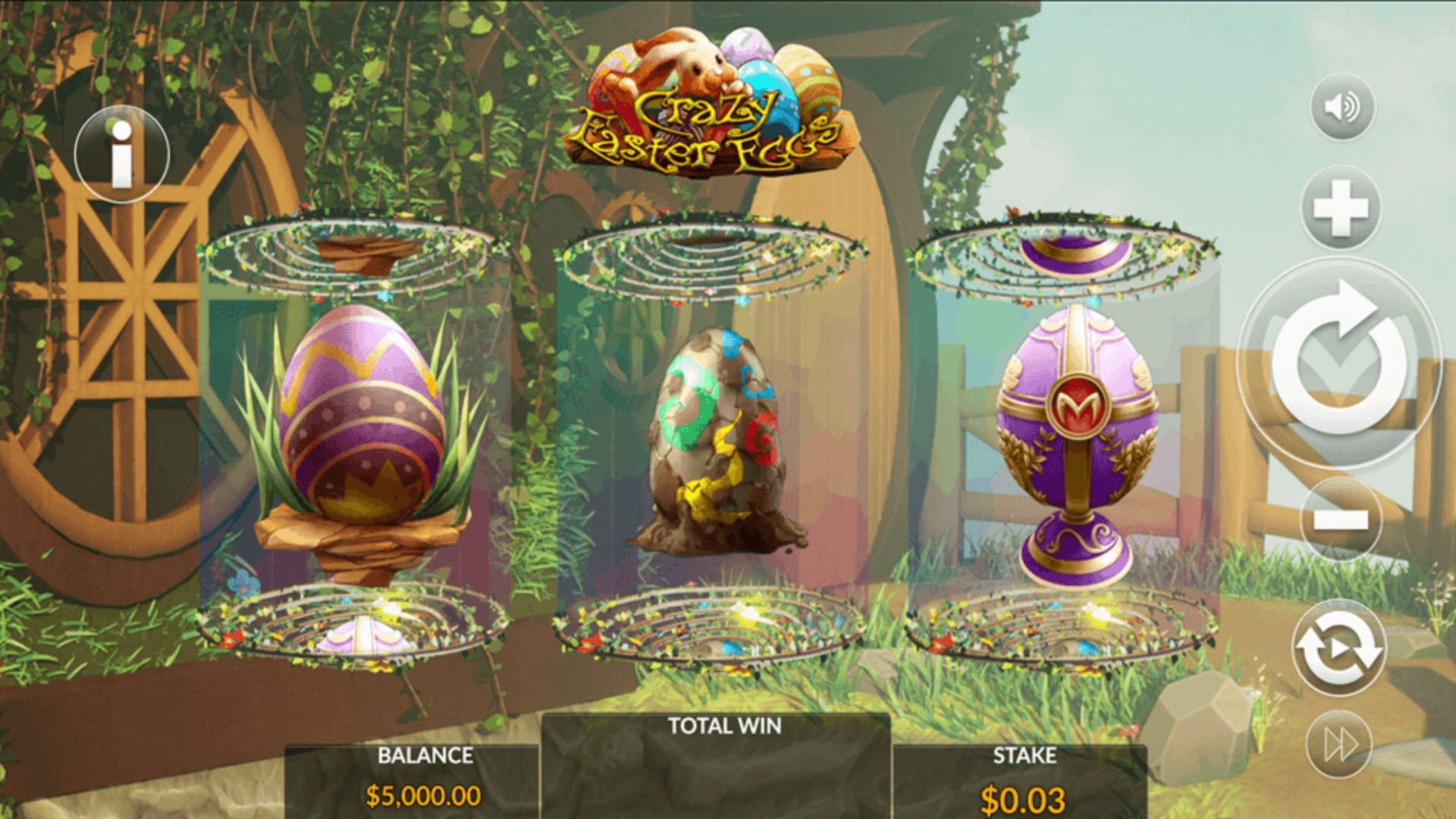 Se Crazy Easter Eggs Online Slot Demo Game, Maverick